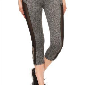 HK Boutique Pants - Cropped Athletic Leggings